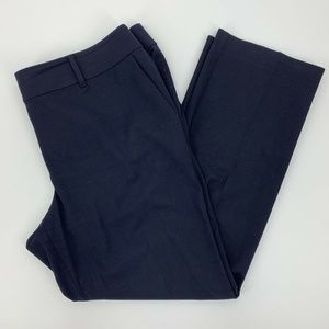 Ann Taylor Modern Fit Pants Navy Blue Size 14